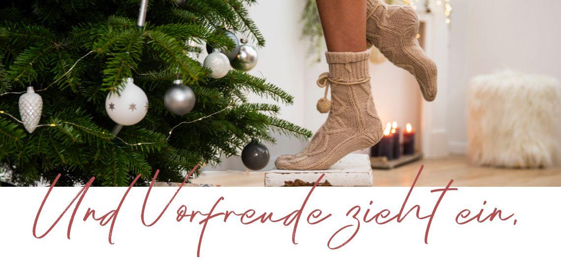 1. Vorfreude auf Weihnachten