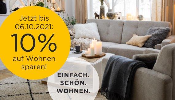 10% auf Wohnen