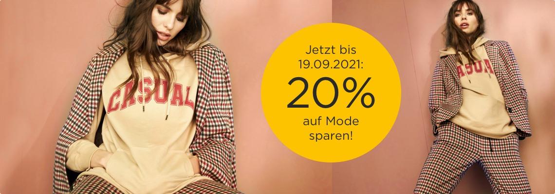 20% auf Mode